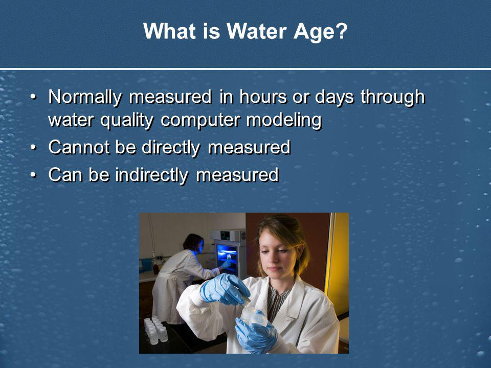What is Water Age.