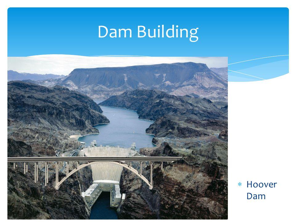 Hoover Dam Dam Building