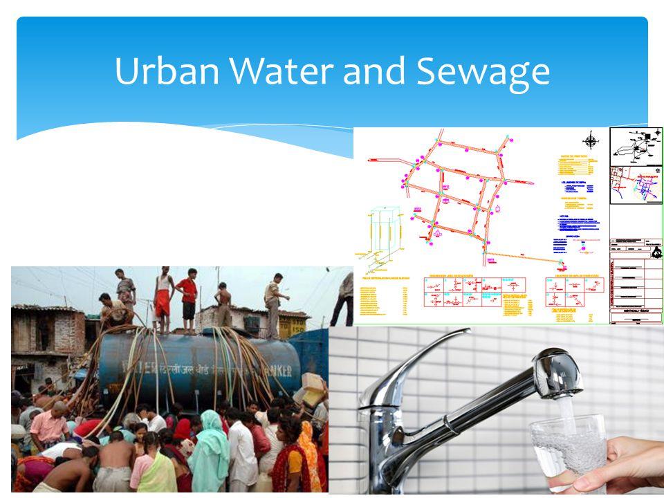 Urban Water and Sewage