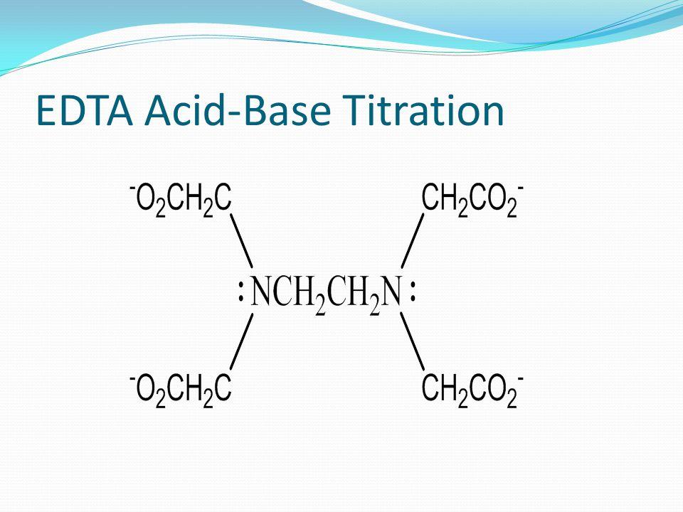 EDTA Acid-Base Titration