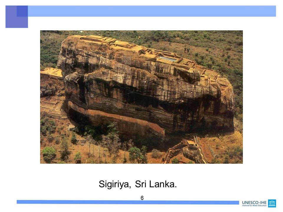 6 Sigiriya, Sri Lanka.