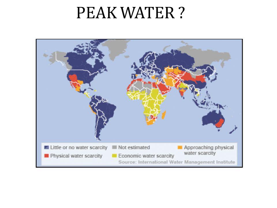 PEAK WATER