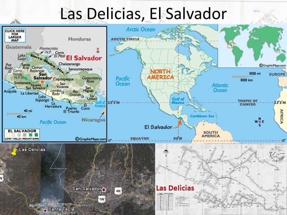 Las Delicias, El Salvador Las Delicias