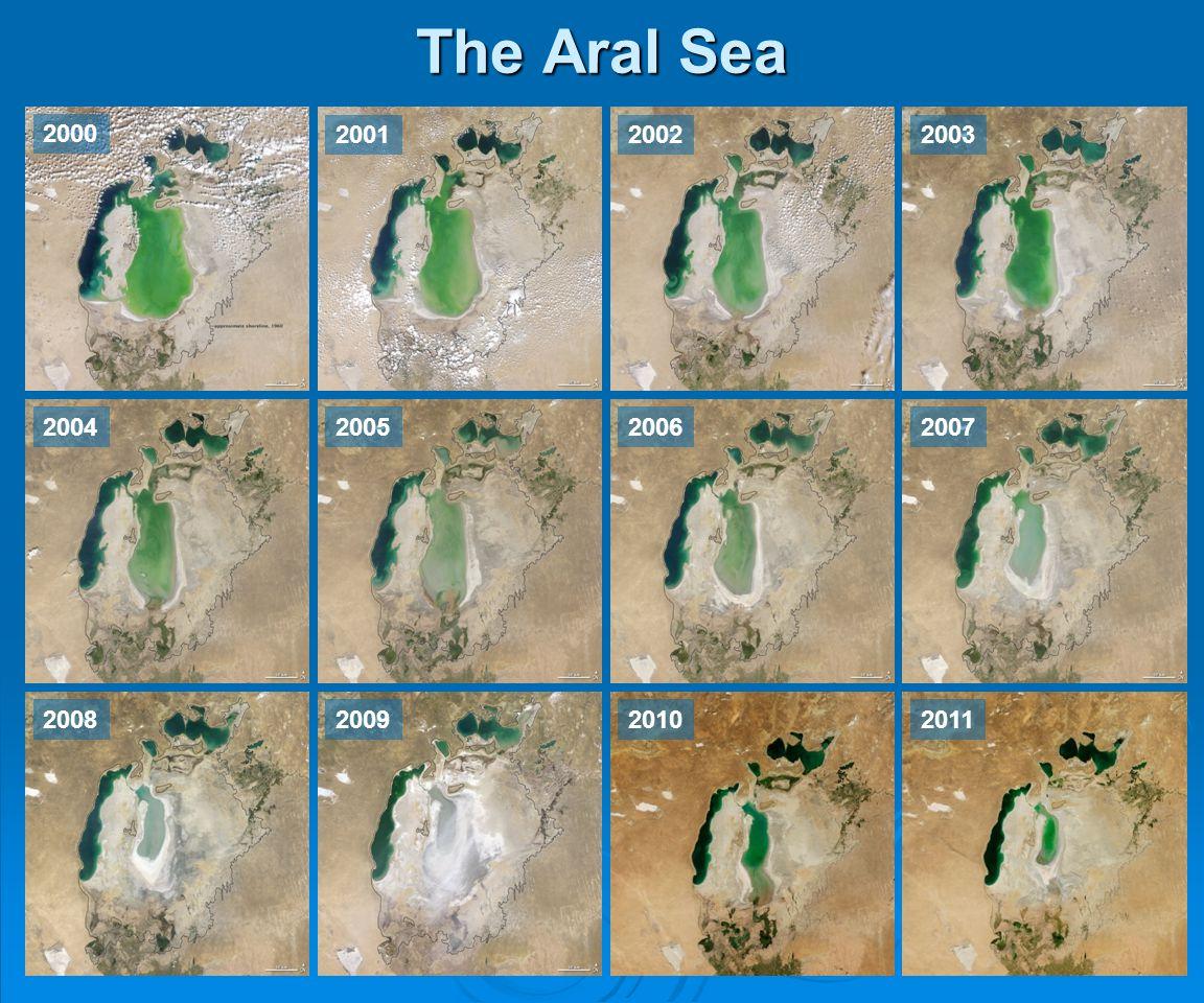 The Aral Sea 2000 200120022003 2004200520062007 2008200920102011