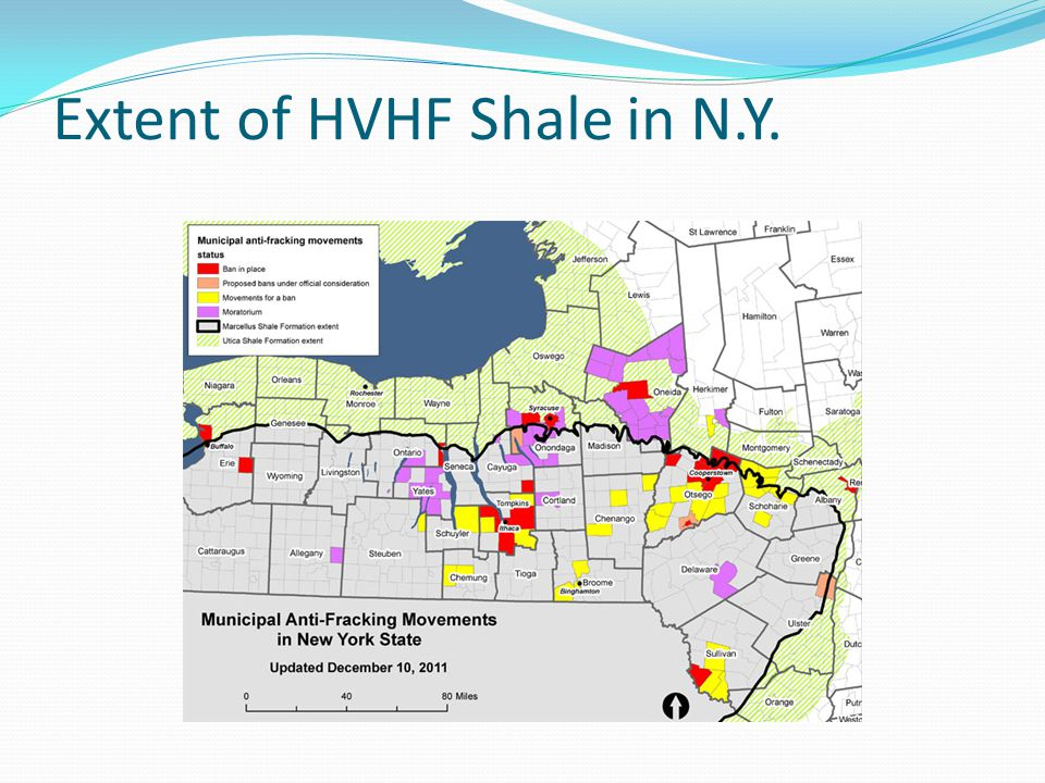 HFHV in New York Remains on HOLD Proposed regulations for HVHF officially expired on February 27, 2013 The DECif it decides to implement formal regulationswould have to re-propose them in the register, and open them to a 45-day public comment period and at least one hearing.