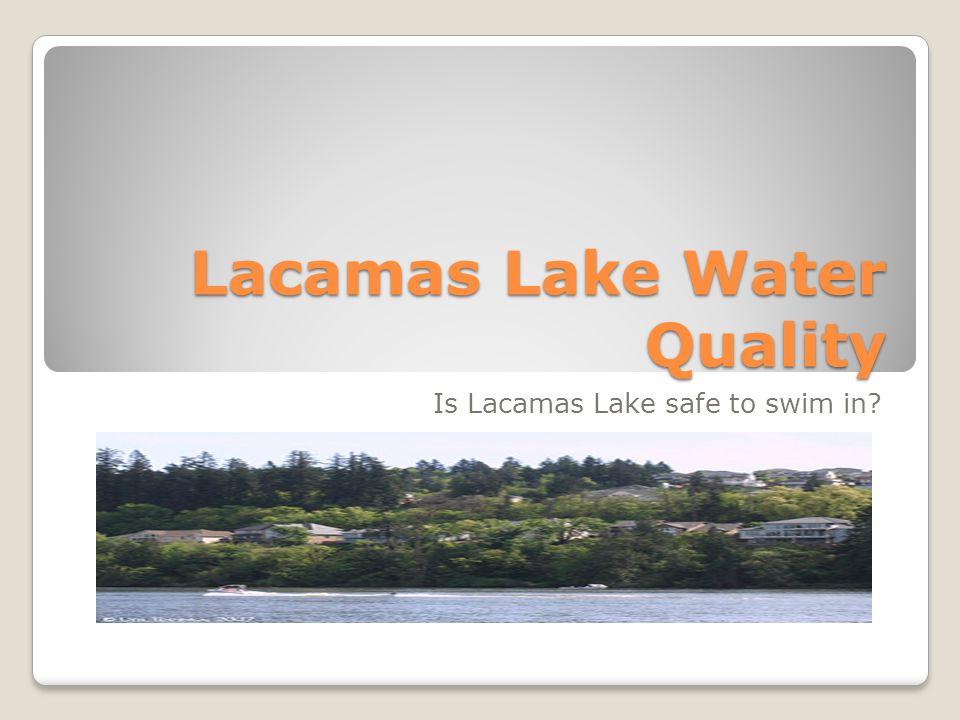 Lacamas Lake Water Quality Is Lacamas Lake safe to swim in?