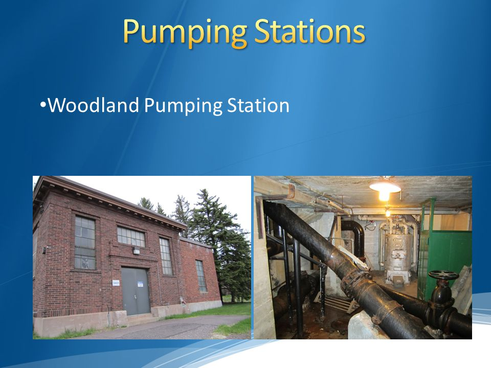 Woodland Pumping Station