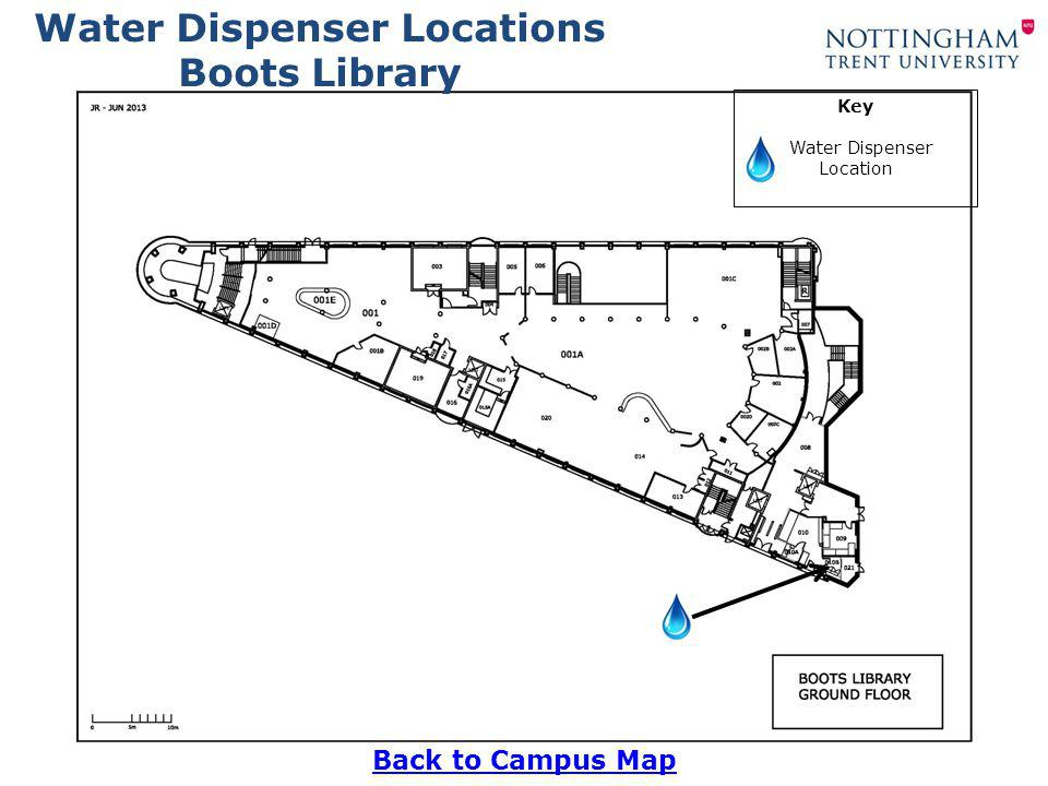 Water Dispenser Locations Hollymount Back to Campus Map Key Water Dispenser Location