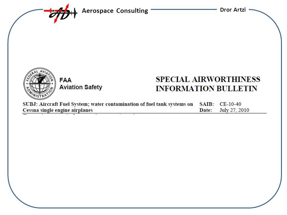 Aerospace Consulting Dror Artzi