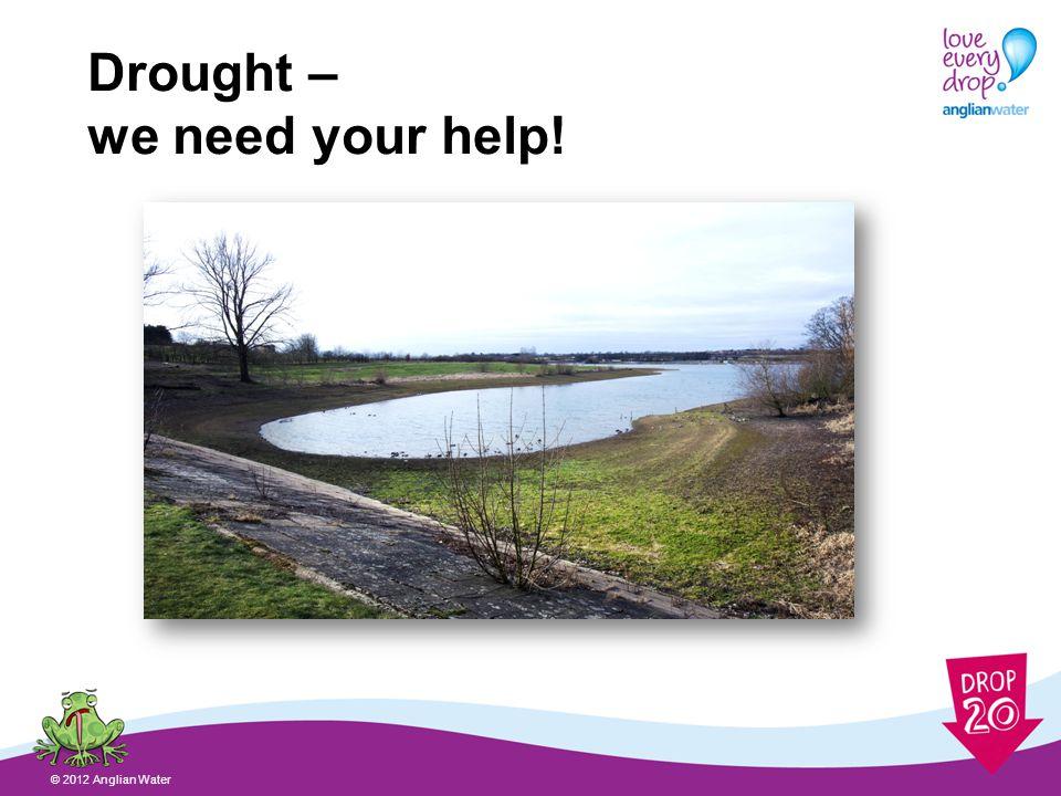 Why do we need rain? © 2012 Anglian Water