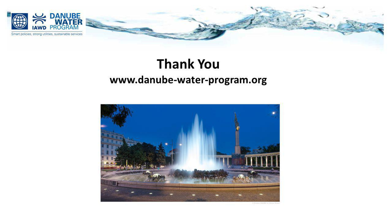 Thank You www.danube-water-program.org