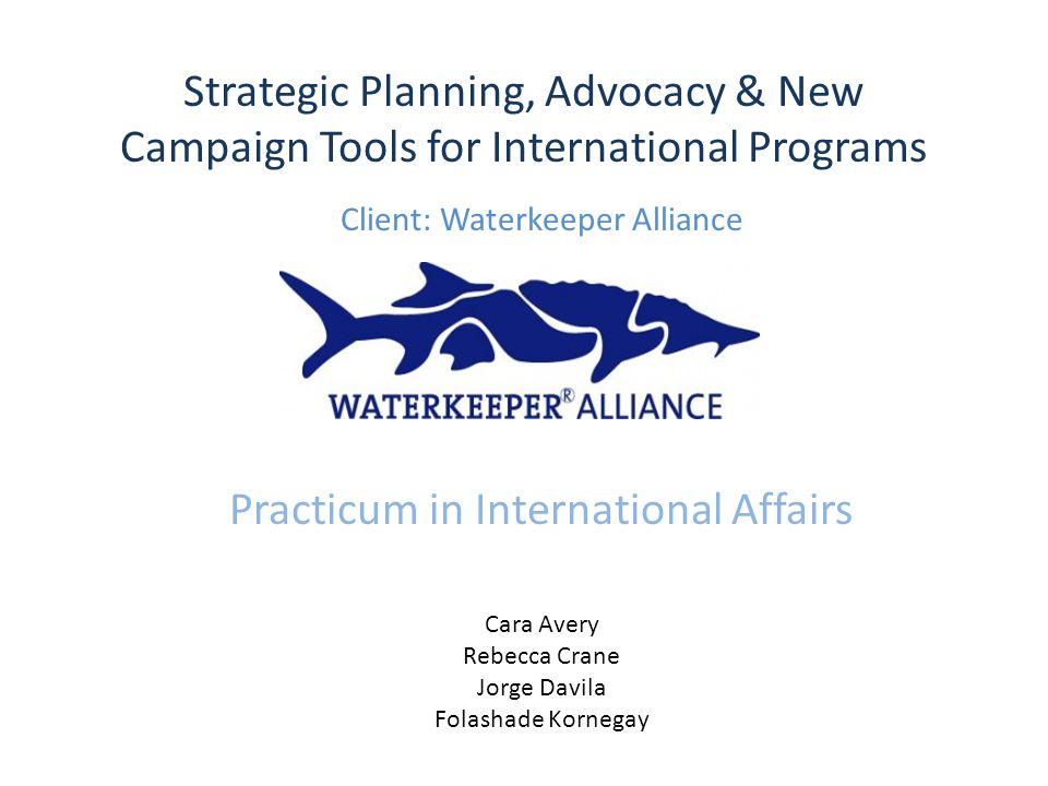 Who is Waterkeeper Alliance.