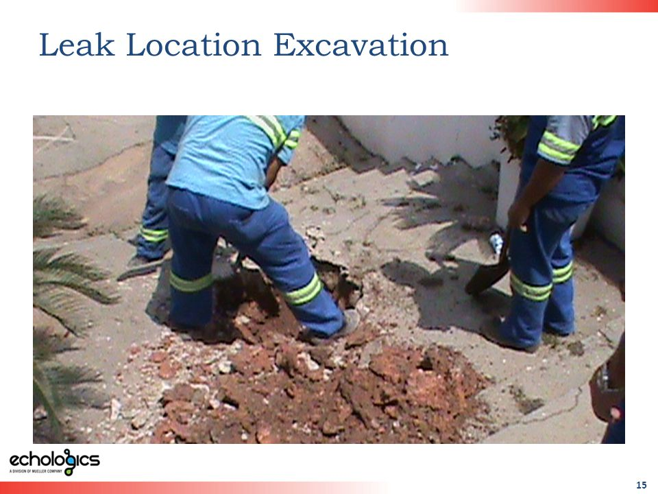15 Leak Location Excavation