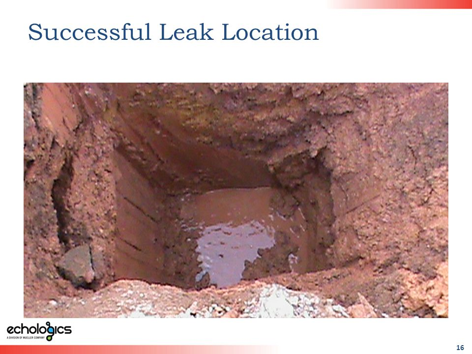 16 Successful Leak Location