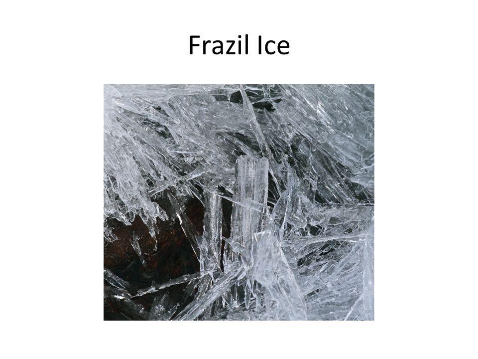 Frazil Ice