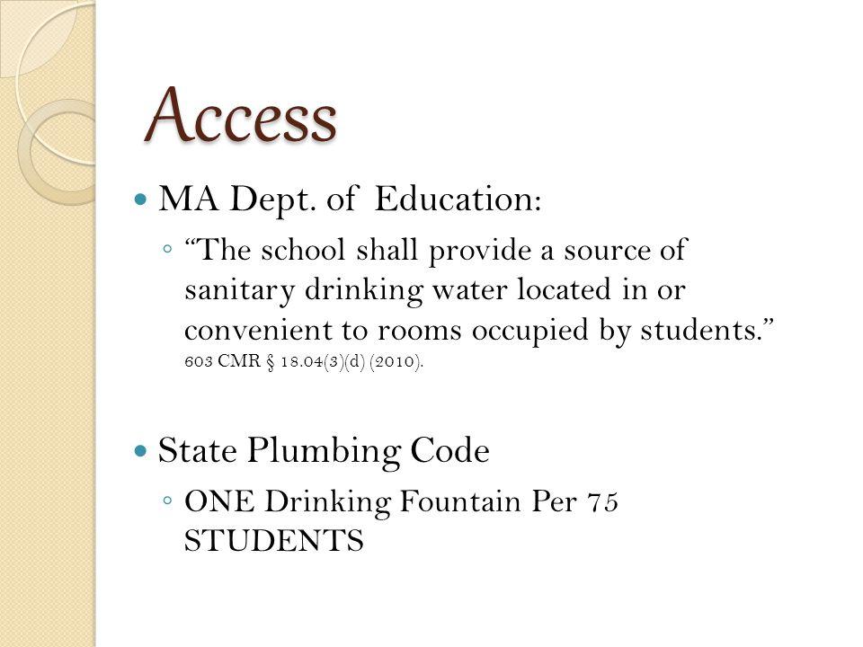 Access MA Dept.