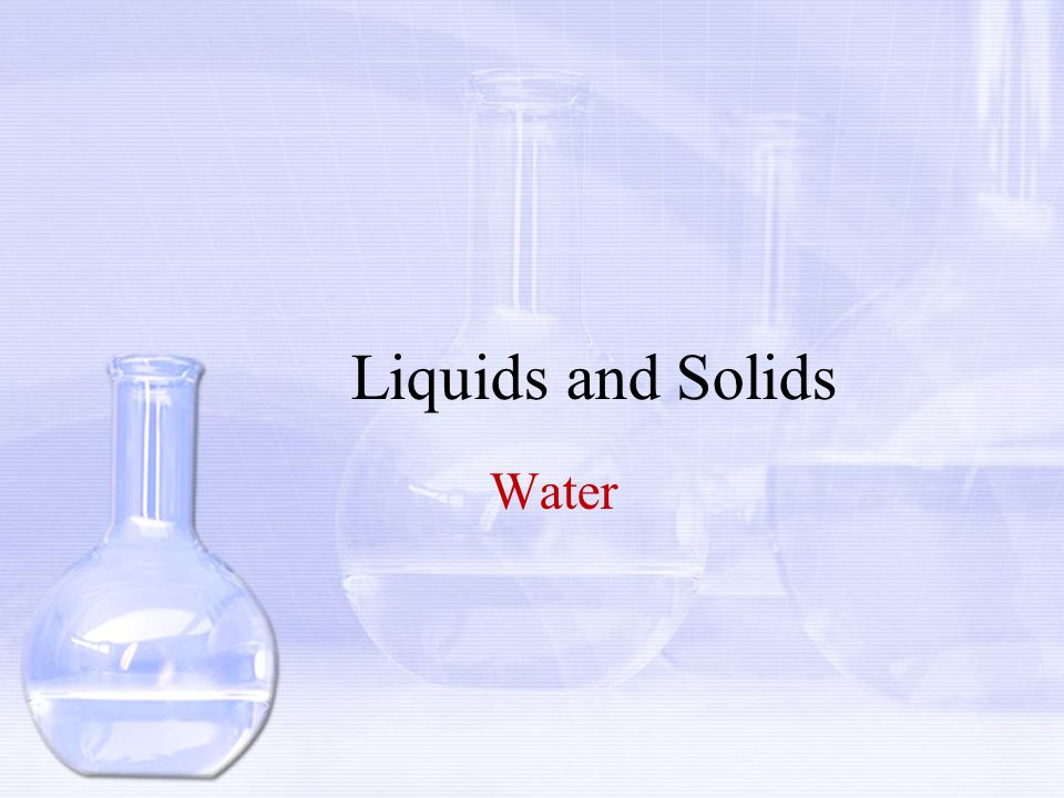 Objectives 1.Describe the structure of a water molecule.