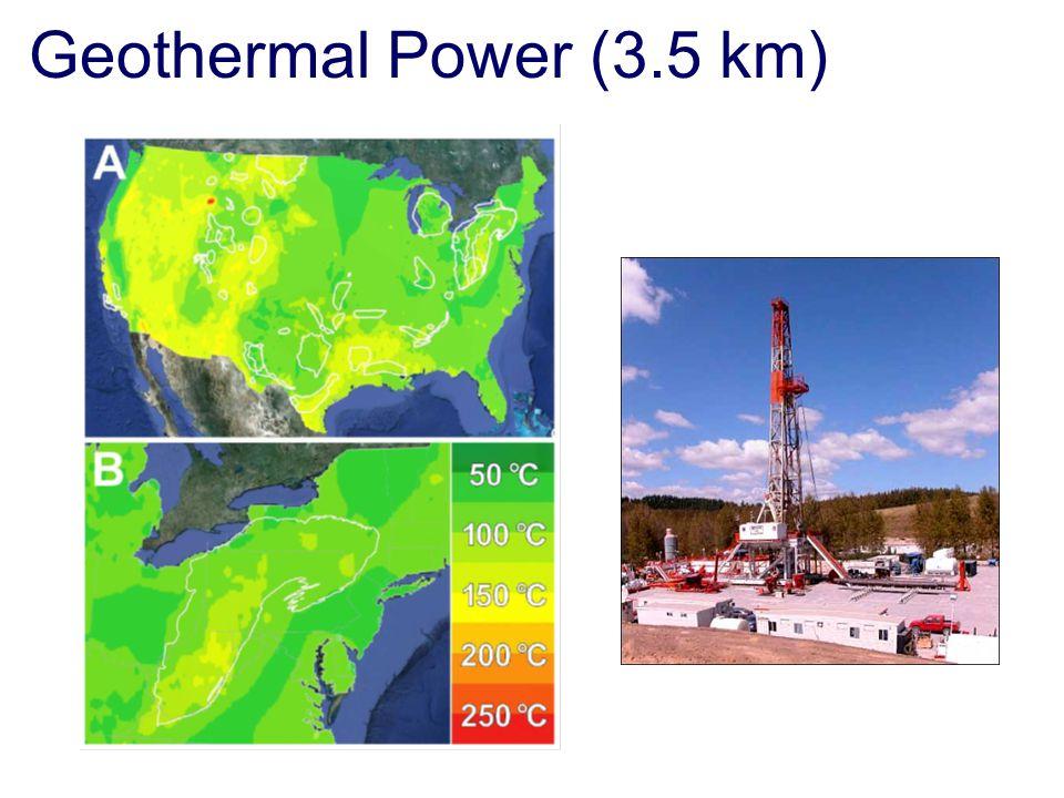 Geothermal Power (3.5 km)