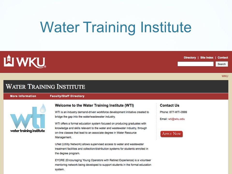 Water Training Institute