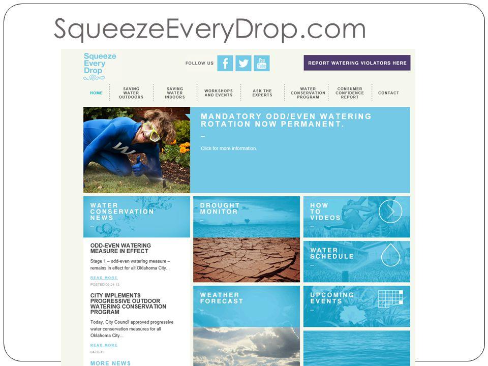 SqueezeEveryDrop.com
