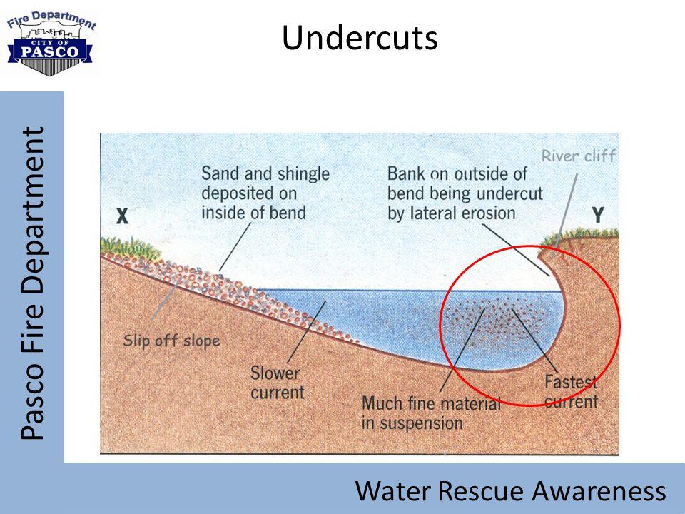 Pasco Fire Department Water Rescue Awareness Undercuts