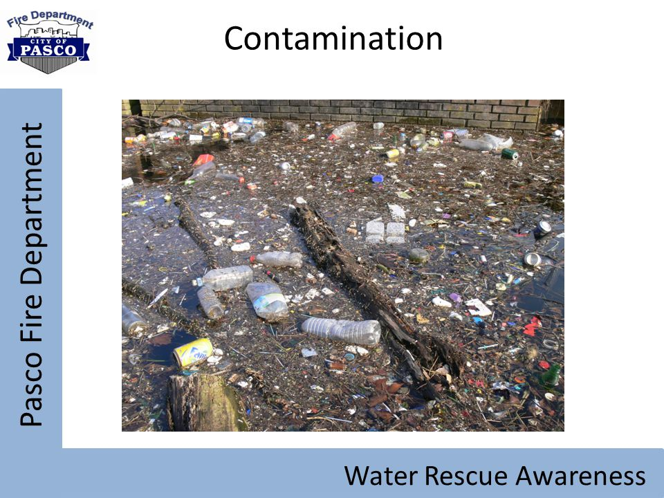 Pasco Fire Department Water Rescue Awareness Contamination