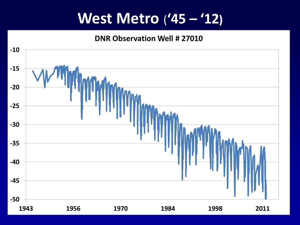 West Metro ( 45 – 12 )
