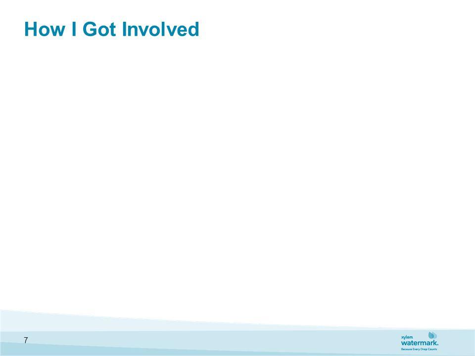 How I Got Involved 7