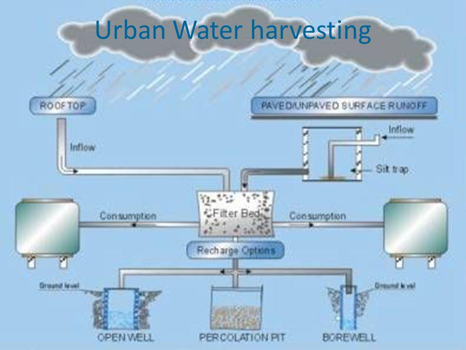 Urban Water harvesting