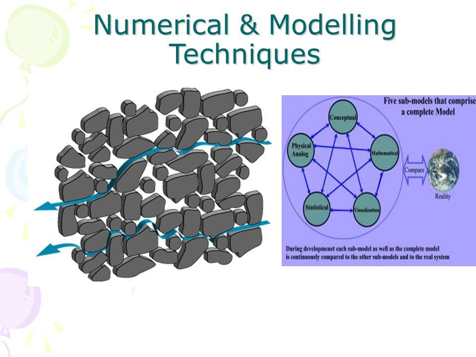 Numerical & Modelling Techniques