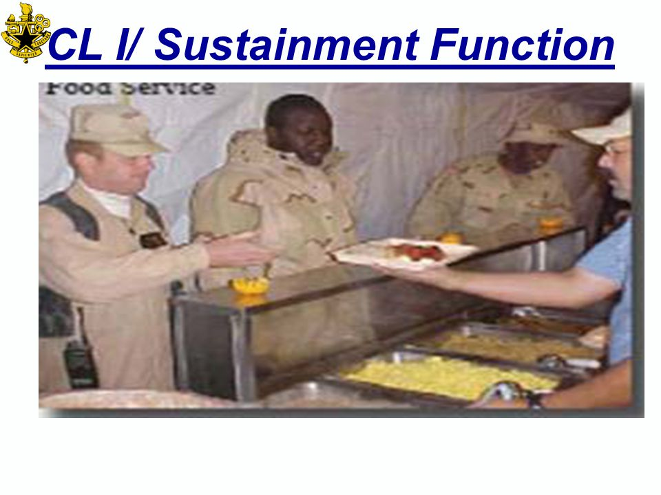 Outline Associated doctrine Definition of the Sustainment Function Overarching functional support concept Service responsibilities for that function Organizations: –Strategic/National Partners –Strategic Level (to include Agencies & Modular forces/units) –Operational Level (to include Modular forces/units) –Tactical Level (to include Modular forces/units) Requirements flow Distribution and/or Support Concepts from Strategic level to tactical LPT considerations Planning considerations Contracting considerations Requirements calculations- e.g.