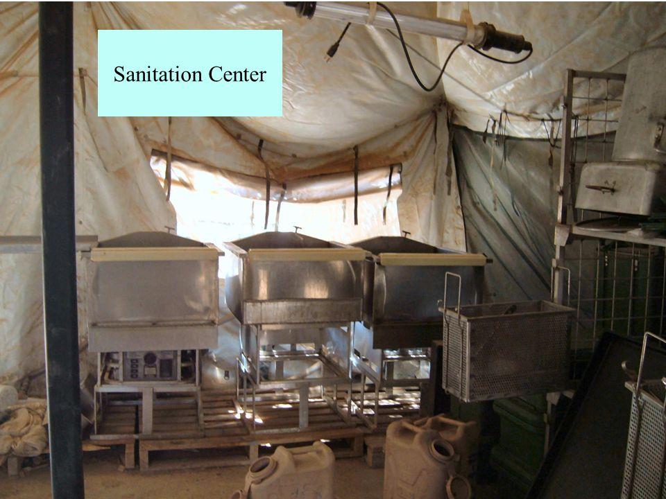 Sanitation Center