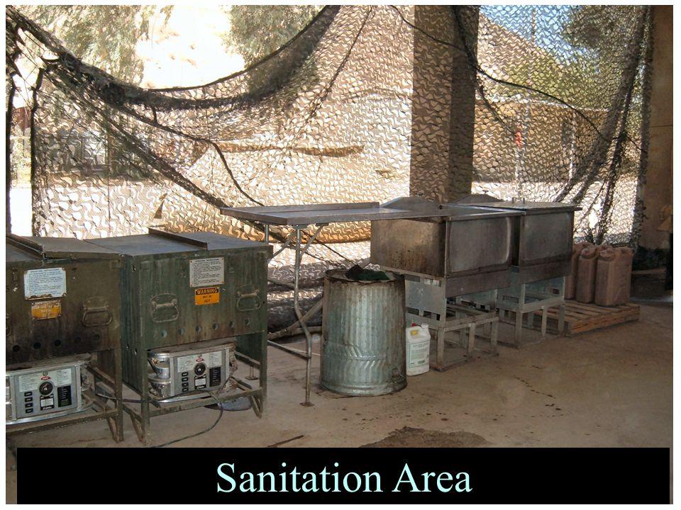 Sanitation Area