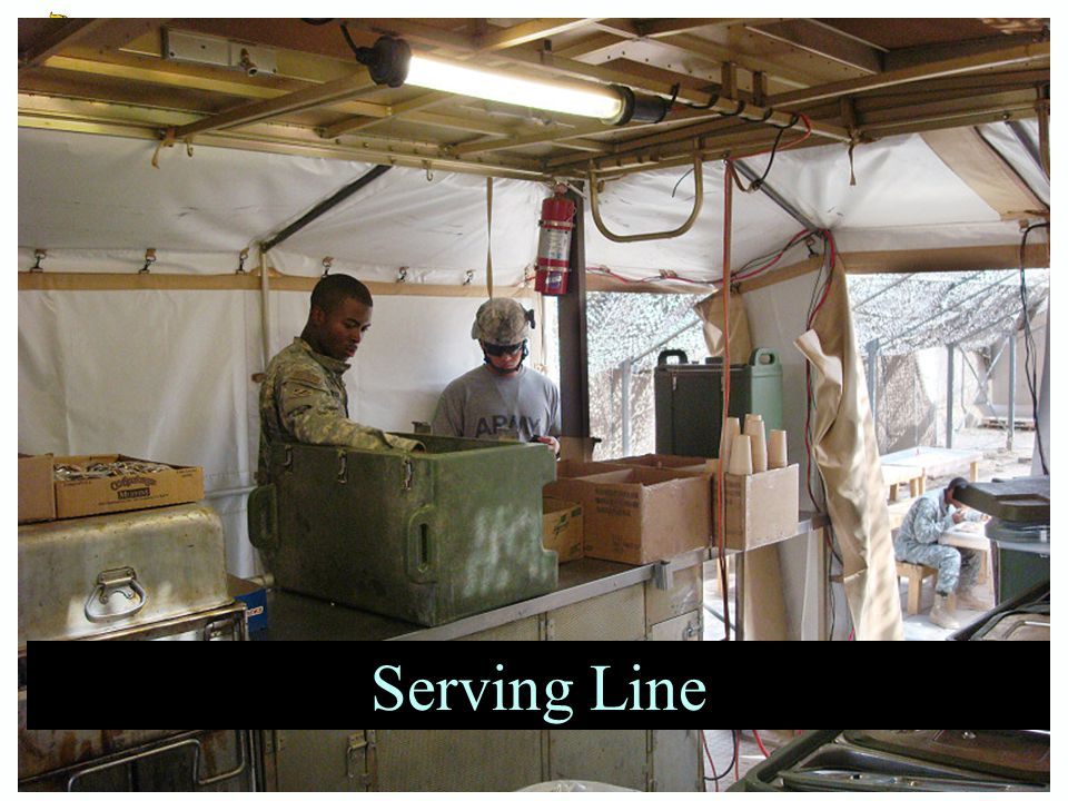 Serving Line