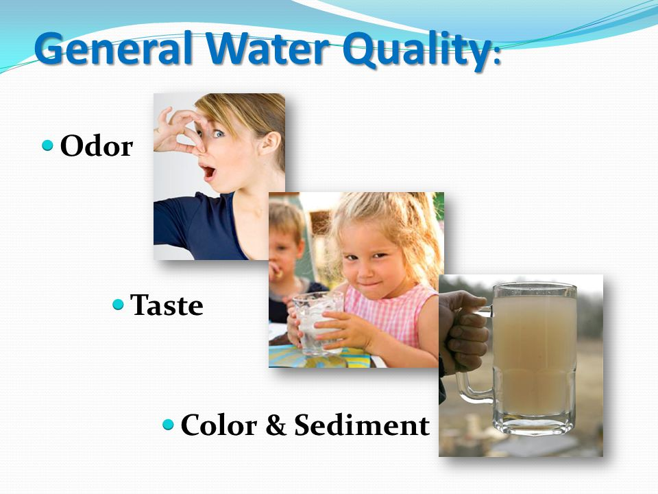 General Water Quality :