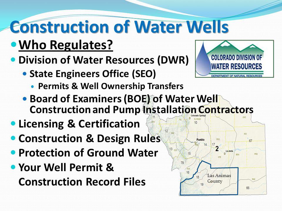 Poor Well Design or Construction Minimum Construction Requirements were Met.