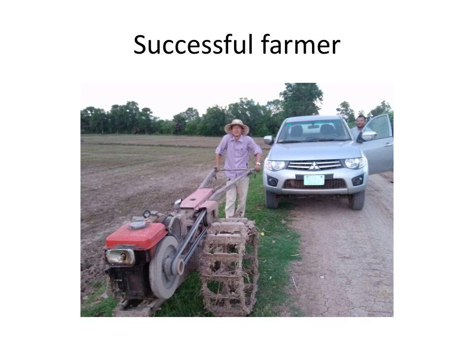 Successful farmer