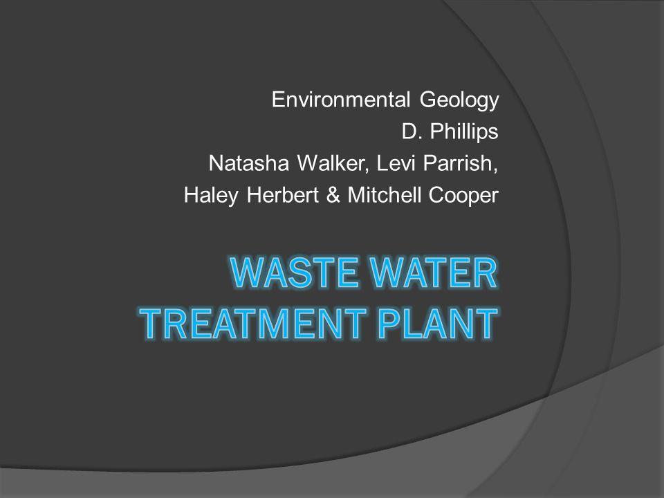 Environmental Geology D. Phillips Natasha Walker, Levi Parrish, Haley Herbert & Mitchell Cooper