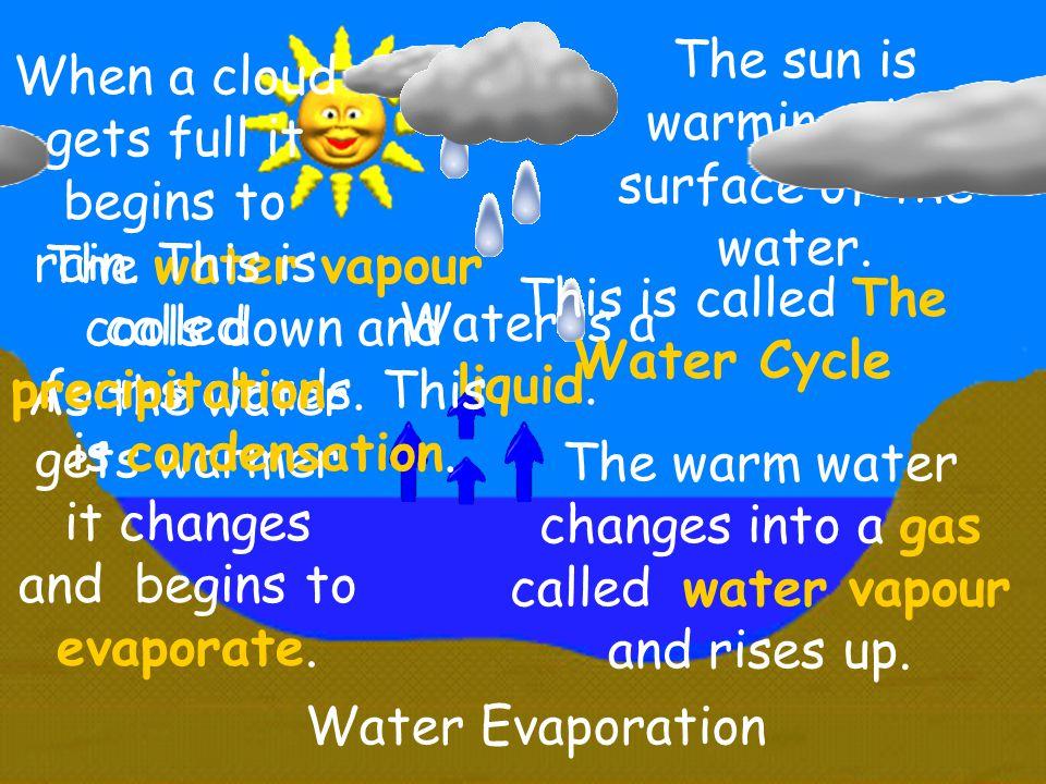 Evaporation Condensation Precipitation