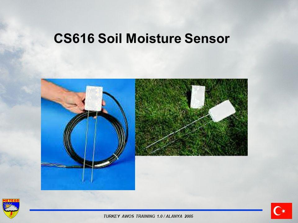 TURKEY AWOS TRAINING 1.0 / ALANYA 2005 CS616 Soil Moisture Sensor
