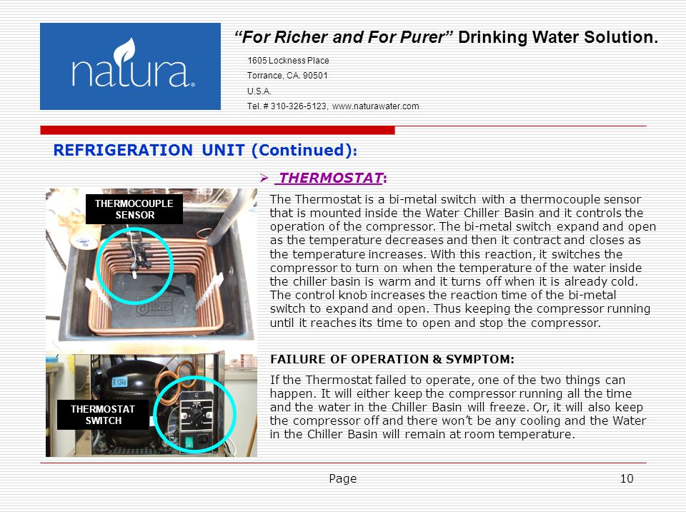 Page10 For Richer and For Purer Drinking Water Solution.