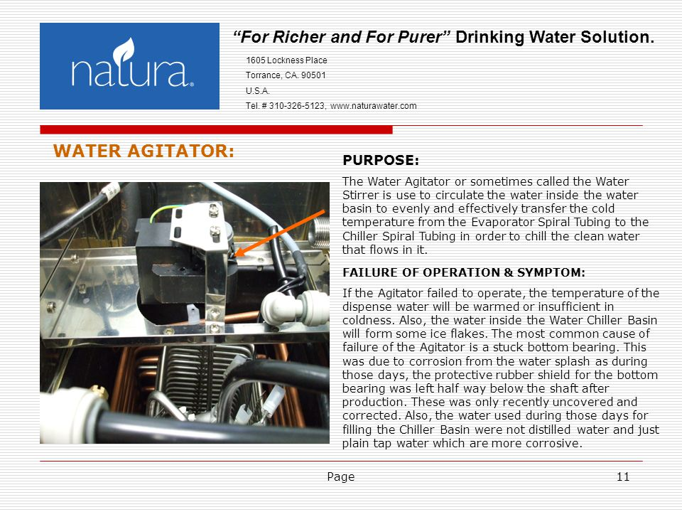 Page11 For Richer and For Purer Drinking Water Solution.