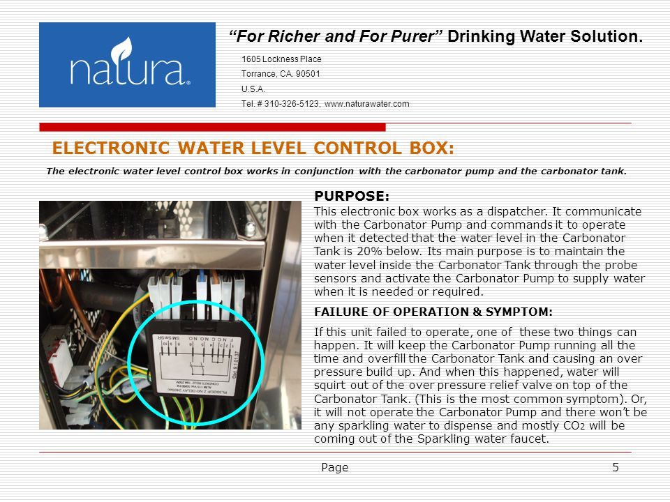 Page5 For Richer and For Purer Drinking Water Solution.