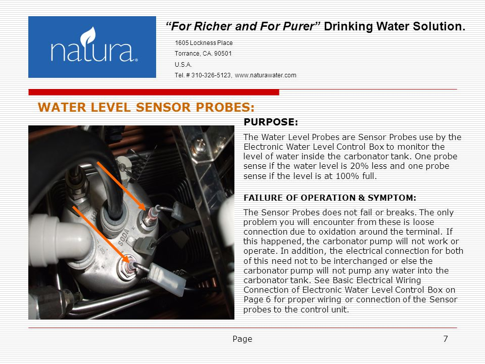 Page7 For Richer and For Purer Drinking Water Solution.