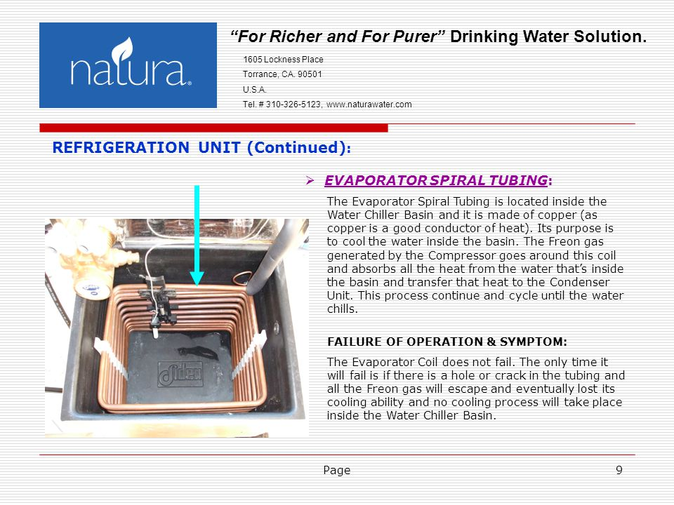 Page9 For Richer and For Purer Drinking Water Solution.