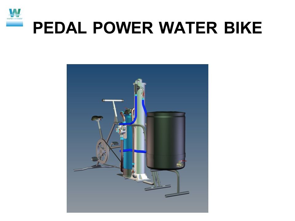PEDAL POWER WATER BIKE
