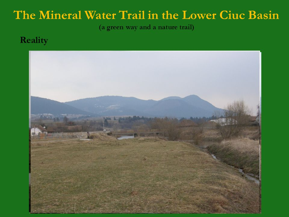 The Mineral Water Trail in the Lower Ciuc Basin (a green way and a nature trail) Background 2.