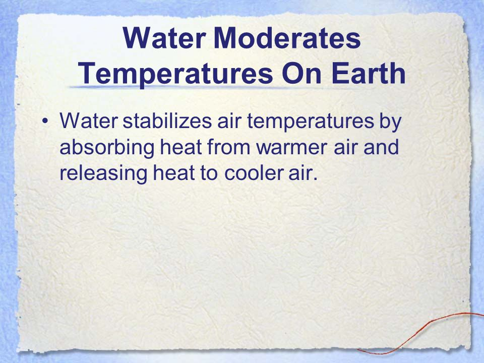 Energy and Water While there are several ways to measure heat energy, one convenient unit is the calorie (cal).