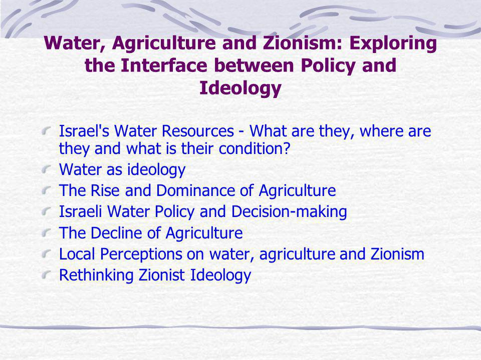 Study Area 3 Major Sources: Jordan River System / Kinneret Mountain Aquifer Coastal Aquifer