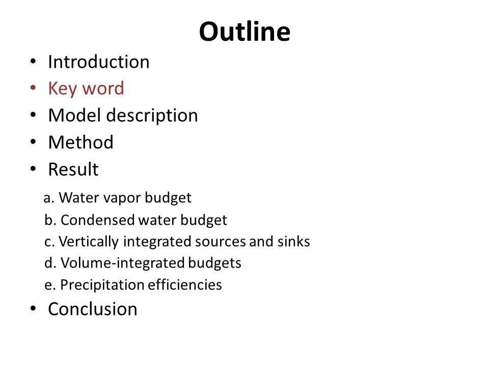 e.Precipitation efficiencies -- Define the efficiency from a microphysical perspective.
